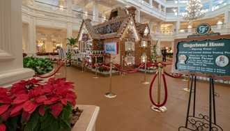 PHOTOS - Gingerbread House at Disney's Grand Floridian Resort now open in new location
