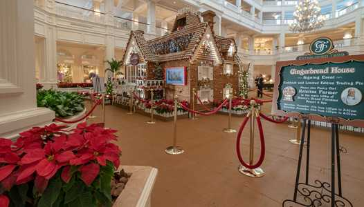 VIDEO - Time-lapse of building the Grand Floridian Resort Gingerbread House