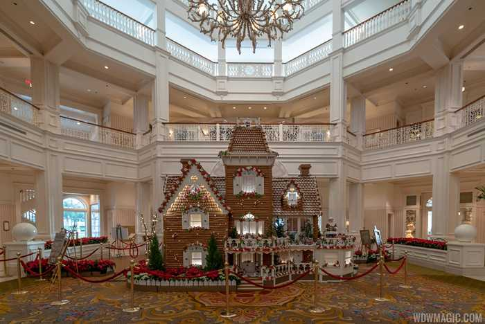 2018 Grand Floridian Gingerbread House