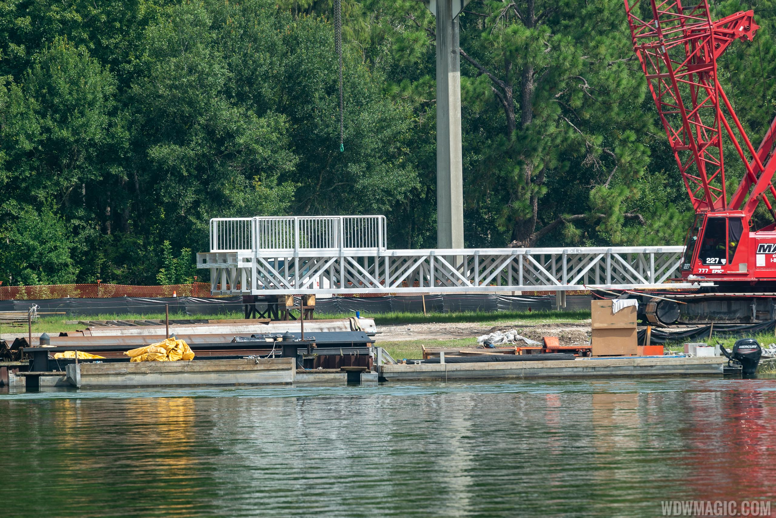 PHOTOS - Grand Floridian Resort bridge to Magic Kingdom