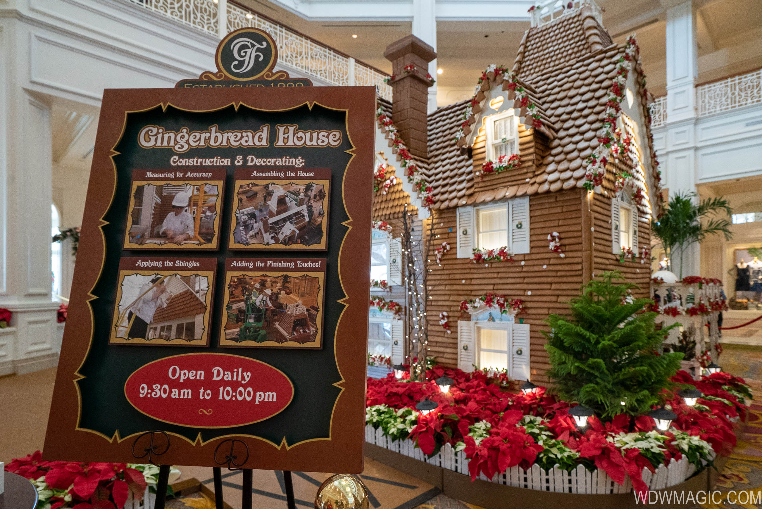 2019 Grand Floridian Gingerbread House