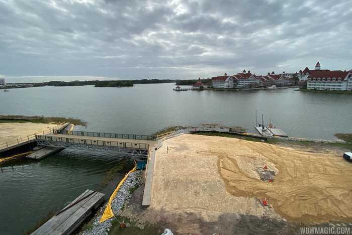 Grand Floridian to Magic Kingdom bridge construction - March 9 2020