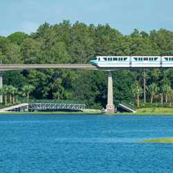 Grand Floridian to Magic Kingdom bridge construction - September 3 2020