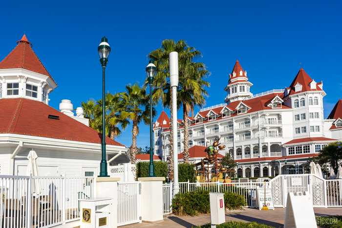 5G cell towers at Disney's Grand Floridian Resort
