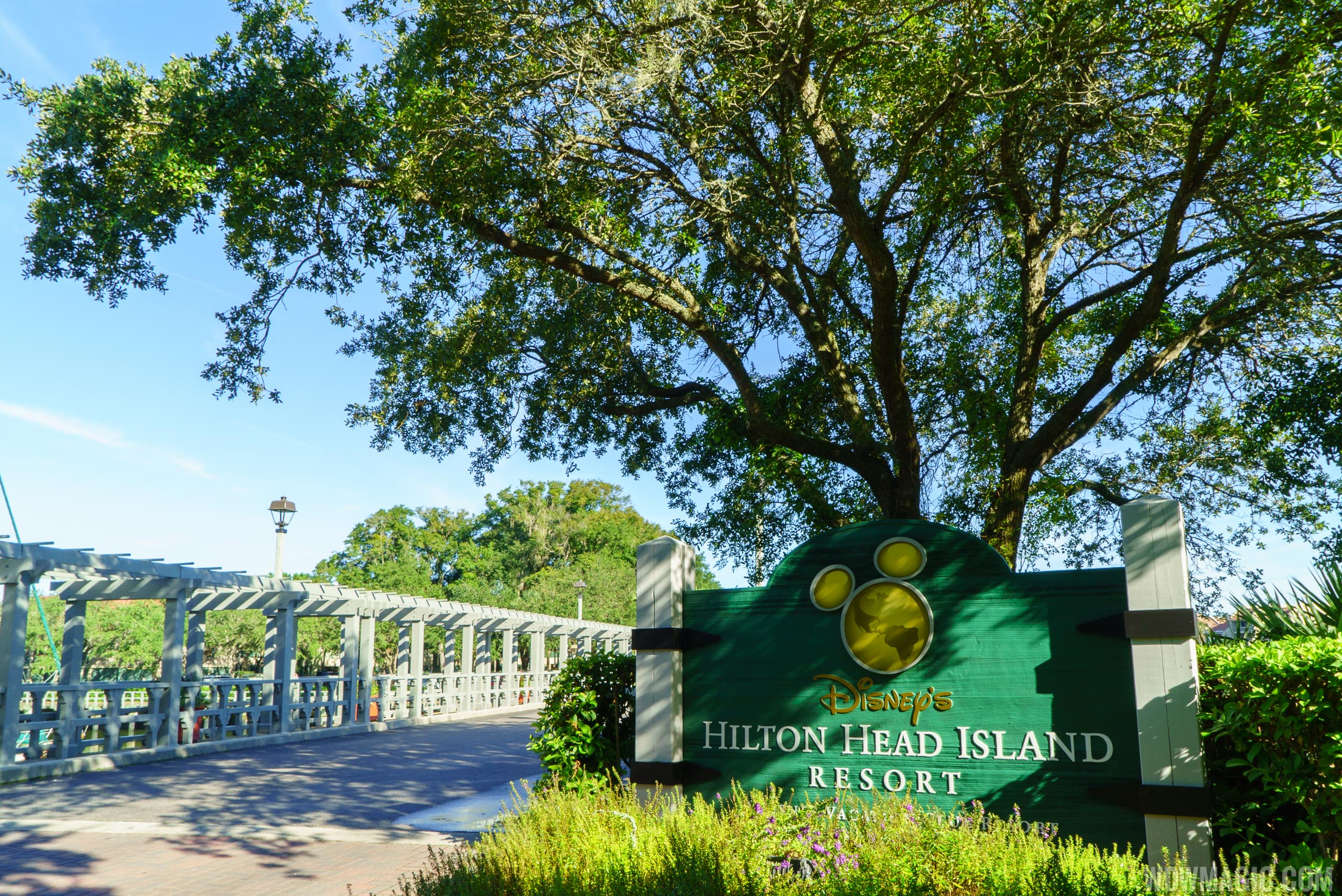 Disney's Hilton Head Island Resort - Entrance