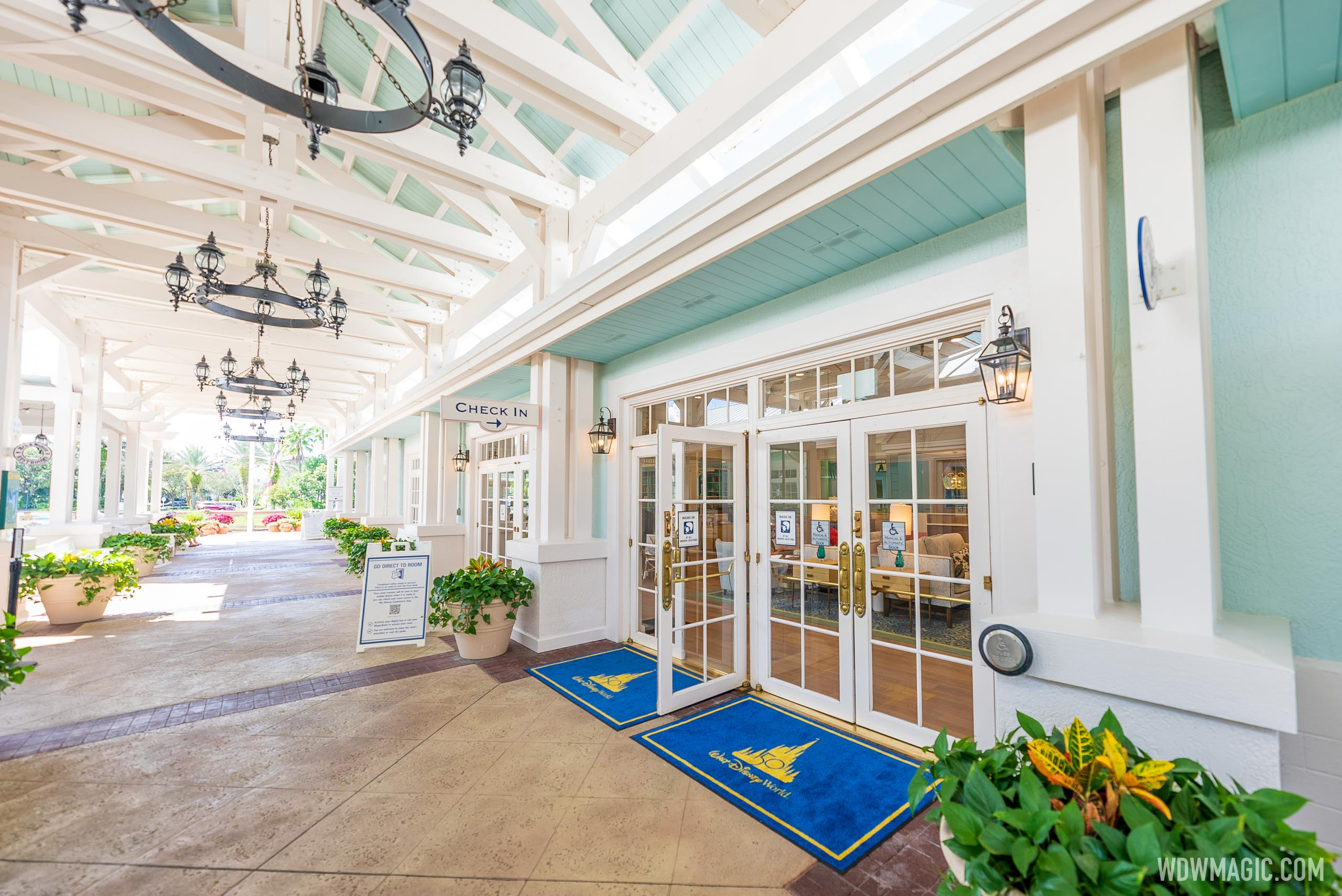 New look lobby at Disney's Old Key West Resort now open