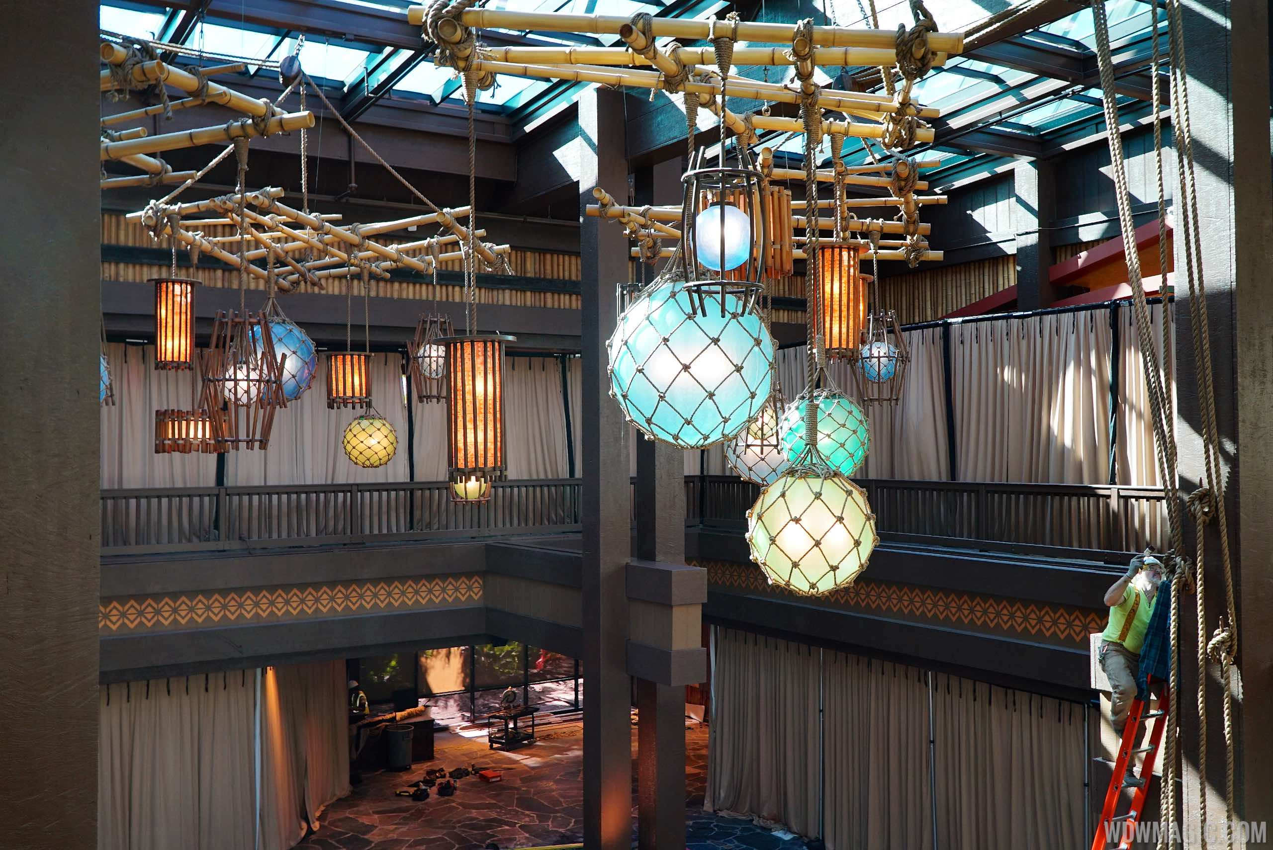 New Polynesian Lobby from above