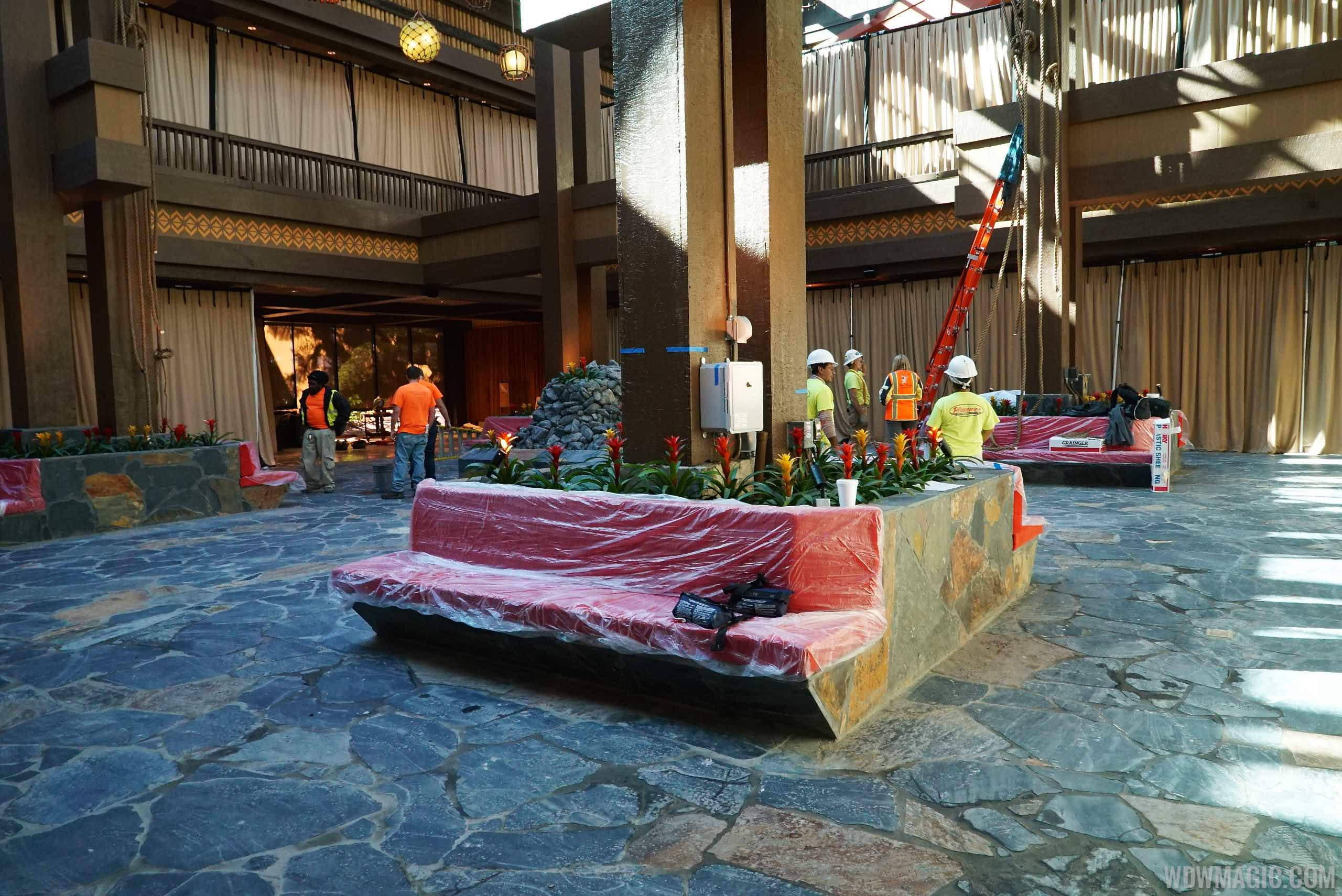 New Polynesian Lobby from ground level