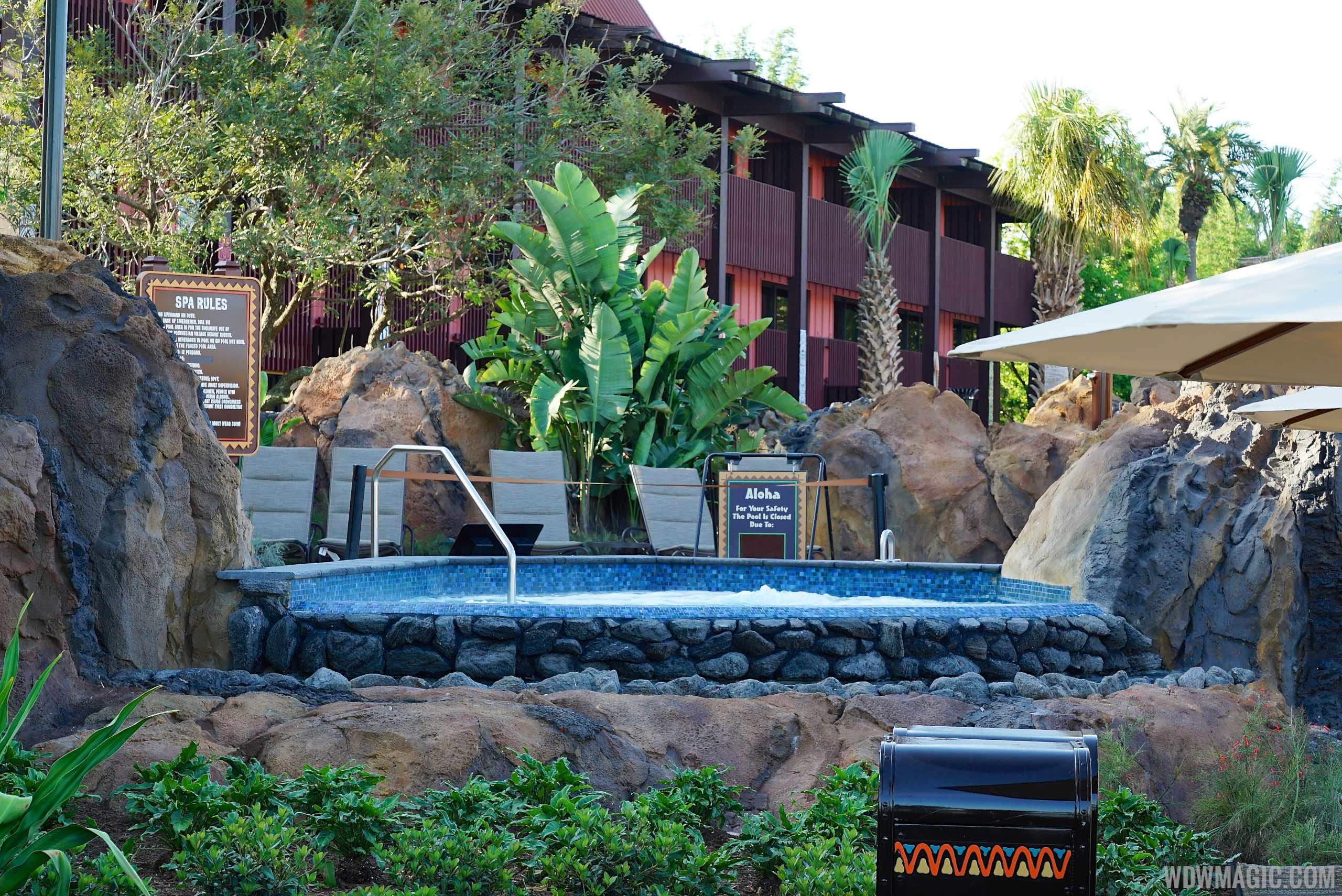 Lava Pool hot tub