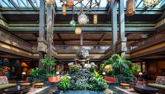 Permits filed for room refurbishments at Disney's Polynesian Village Resort