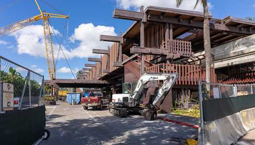 PHOTOS - Latest refurbishment progress at Disney's Polynesian Resort