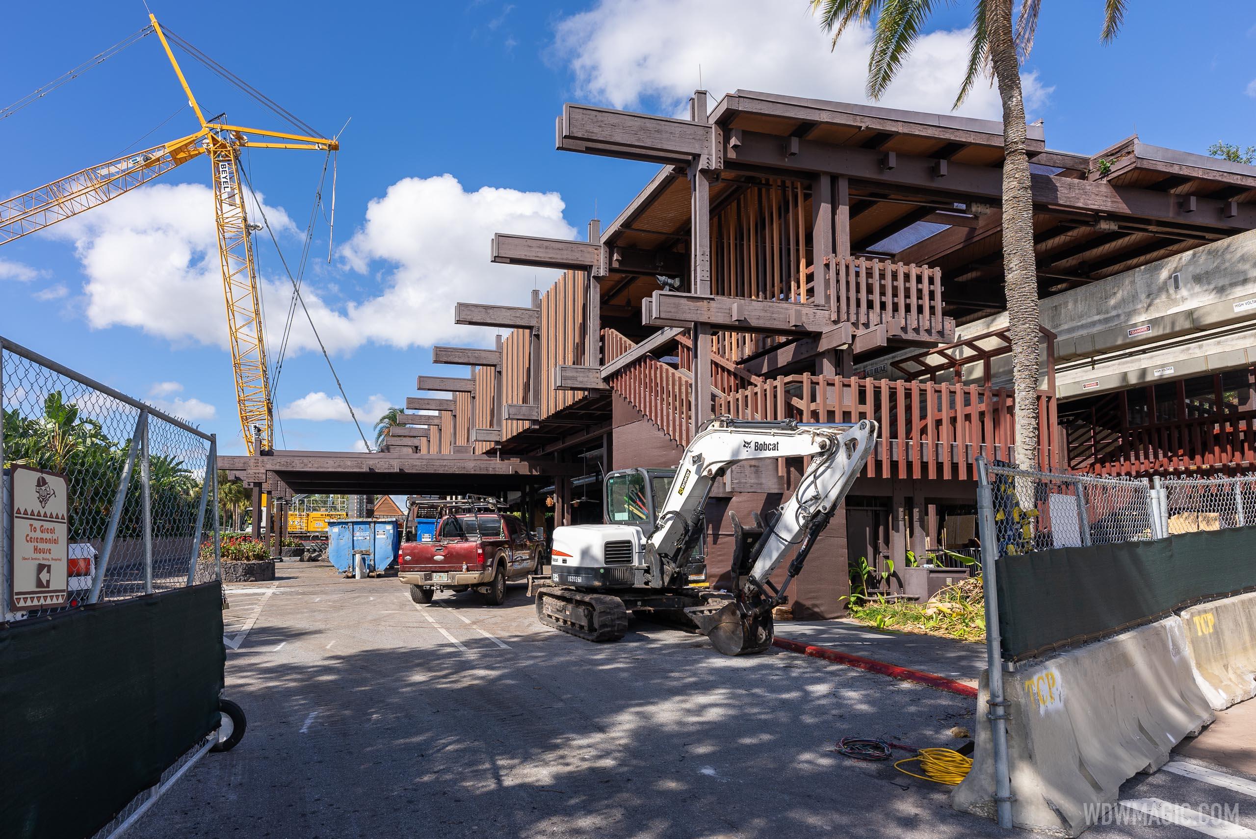 PHOTOS - Latest refurbishment progress at Disney's Polynesian Resort