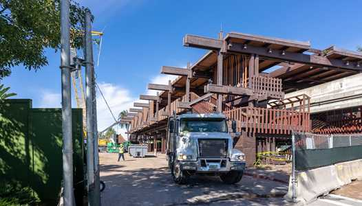 PHOTOS - Construction update from the Great Ceremonial House at Disney's Polynesian Resort