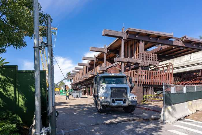 Polynesian Village Resort Great Ceremonial House refurbishment - December 2 2020