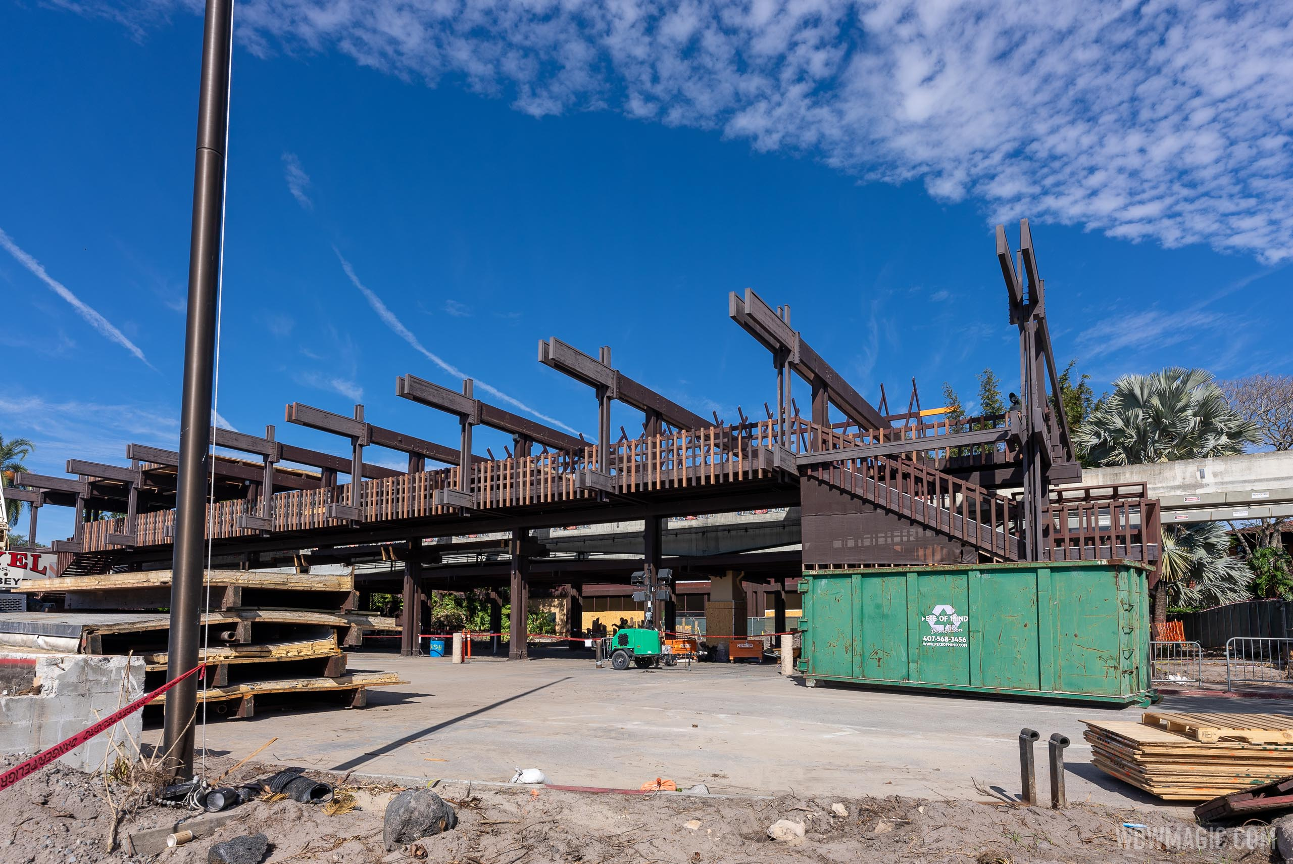 Polynesian Village Resort Great Ceremonial House refurbishment - January 4 2021
