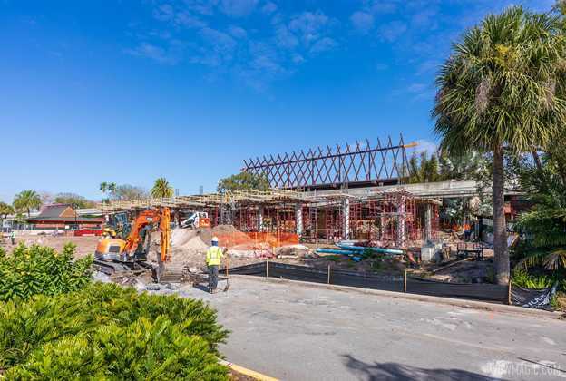 Polynesian Village Resort Great Ceremonial House refurbishment - March 8 2021