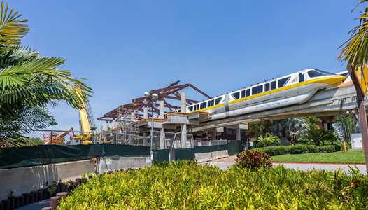 New Monorail station taking shape at Disney's Polynesian Village Resort