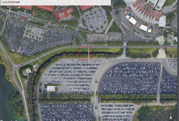Plans for new TTC parking lot bridge for Polynesian Cast Members