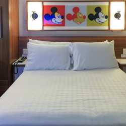 2017 Pop Century Resort room refurbishment