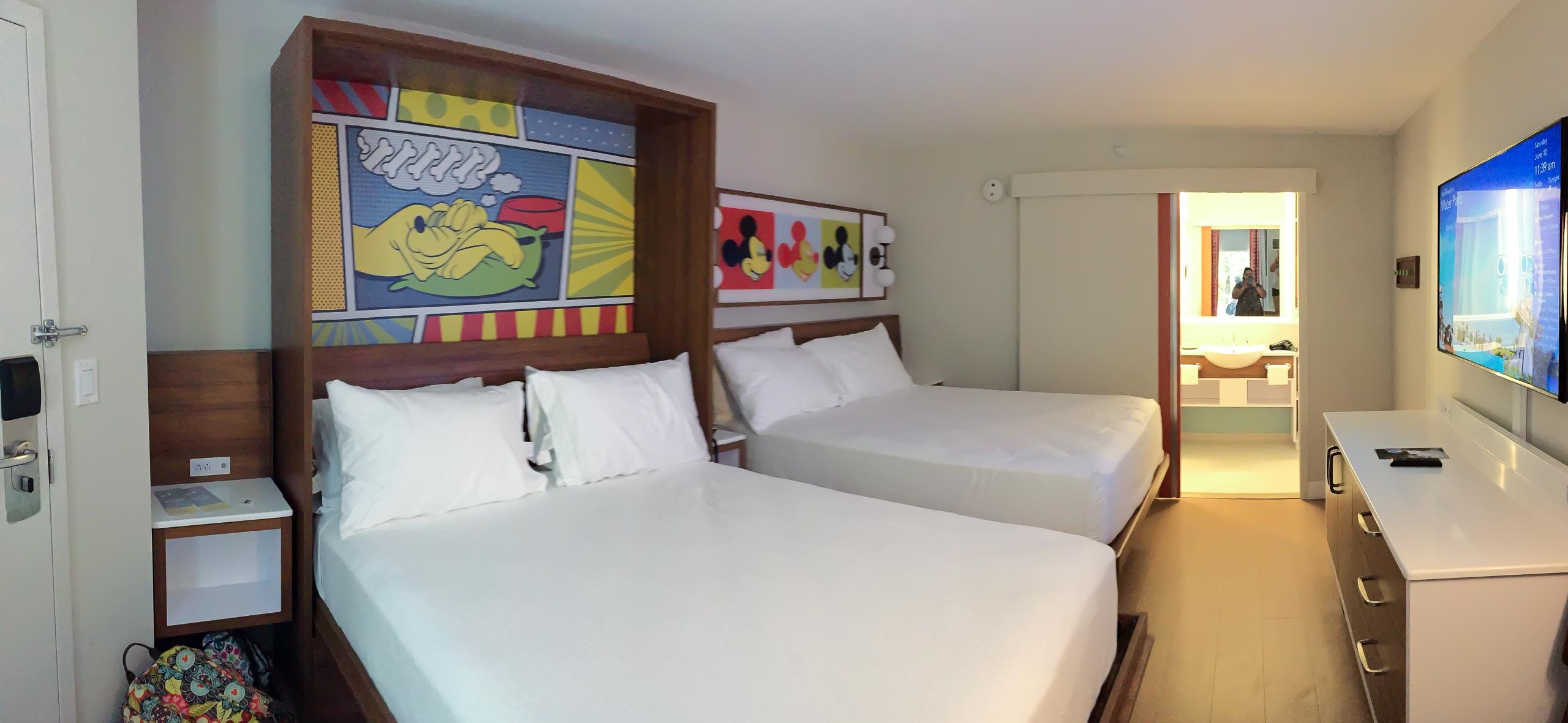 PHOTOS - New look guest rooms at Disney\'s Pop Century Resort
