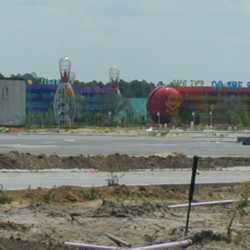 Latest Pop Century Resort construction