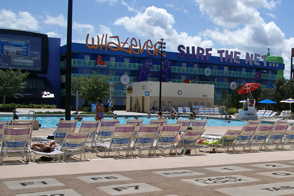 90s buildings and grounds