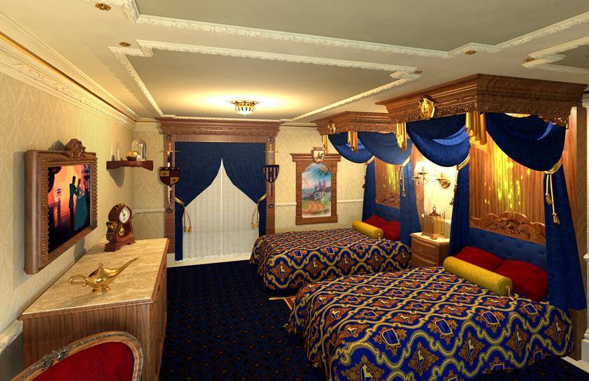 Storybook Royal Room concept art