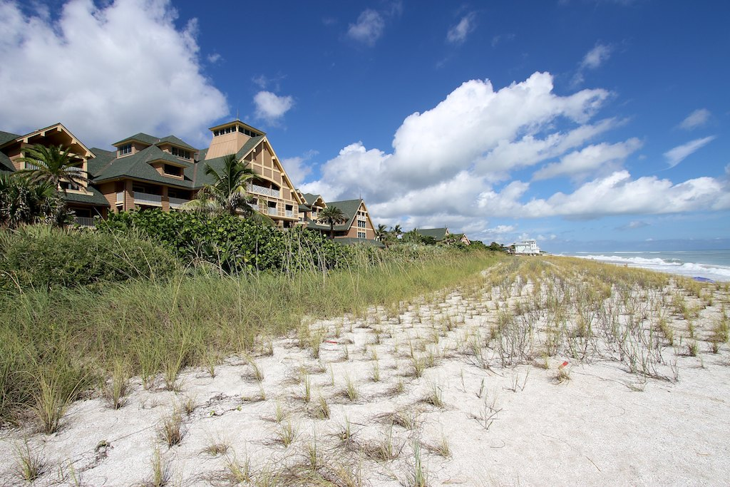 Disney's Vero Beach Resort sits right on the coast