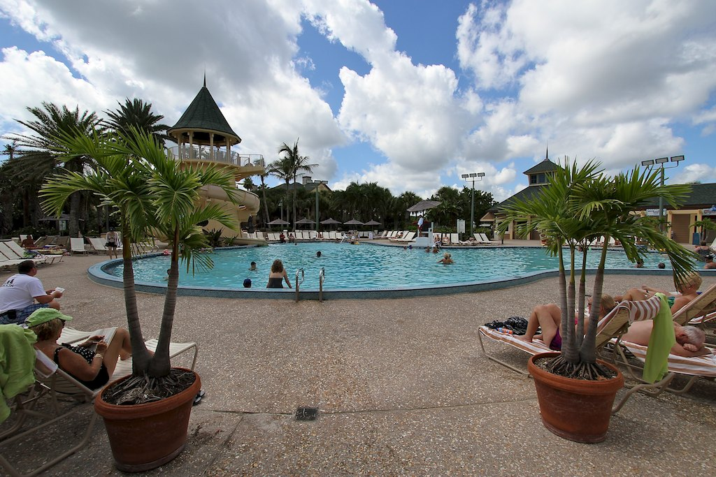 Buildings, Beach, Grounds and Pool