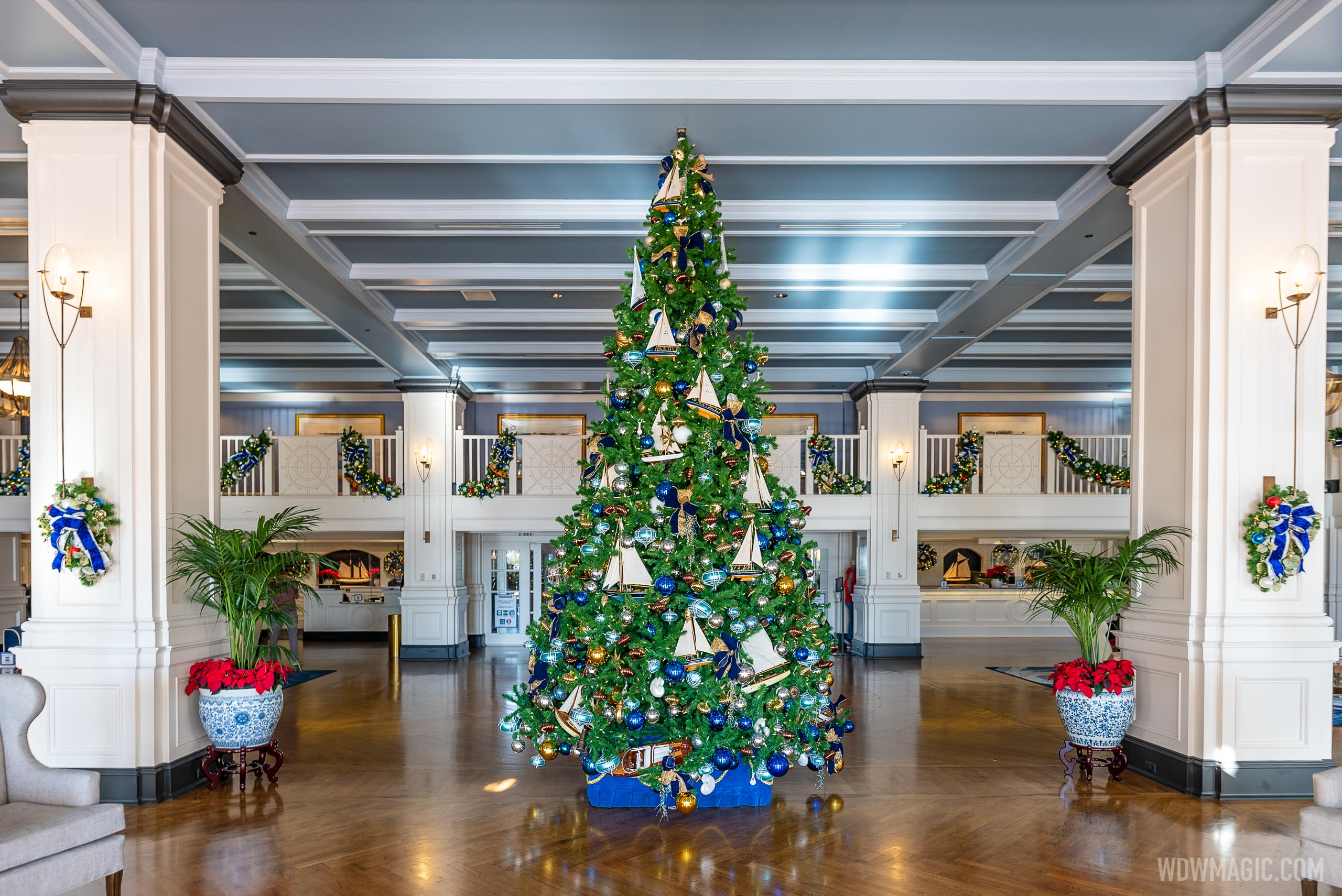 Yacht Club Resort Christmas Holiday decor 2020