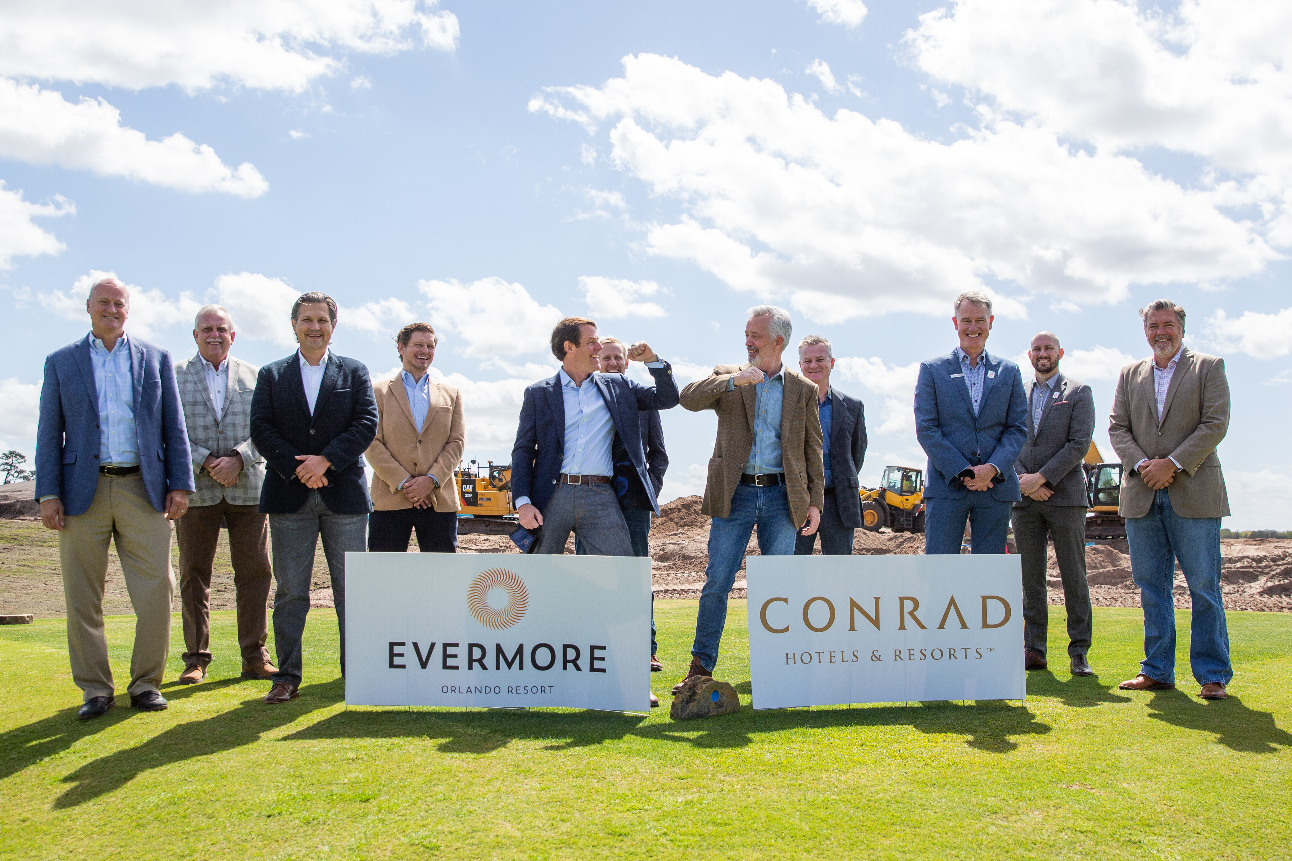 Ground breaking at the Conrad Orlando