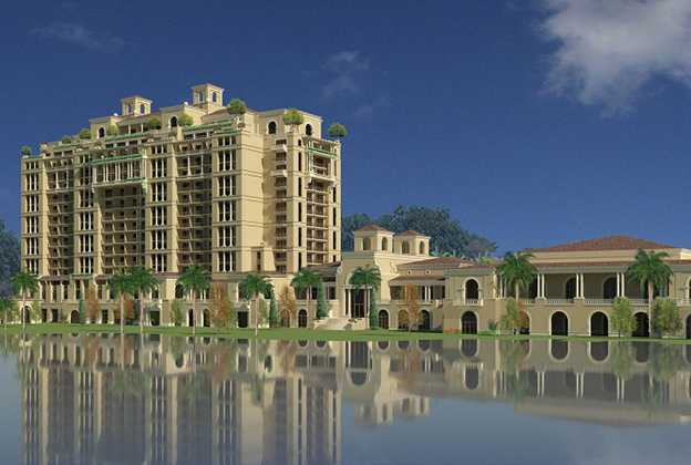 Four Seasons Resort Orlando revised concept art