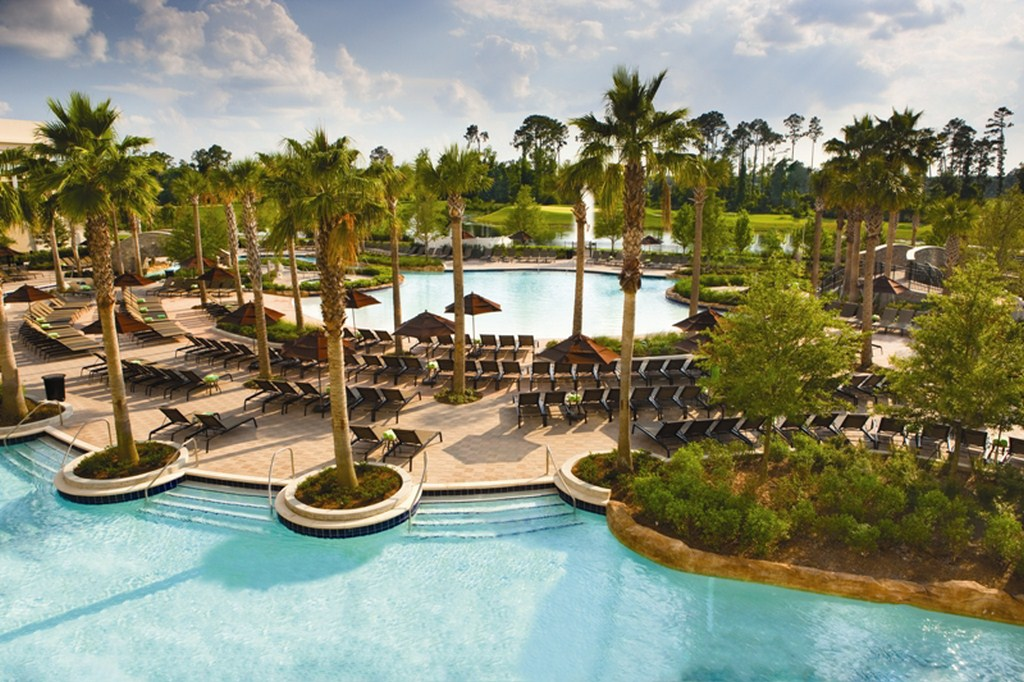 The Hilton Orlando Bonnet Creek resort pool
