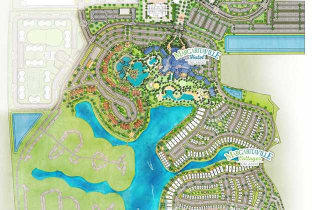 Margaritaville Resort Orlando site map
