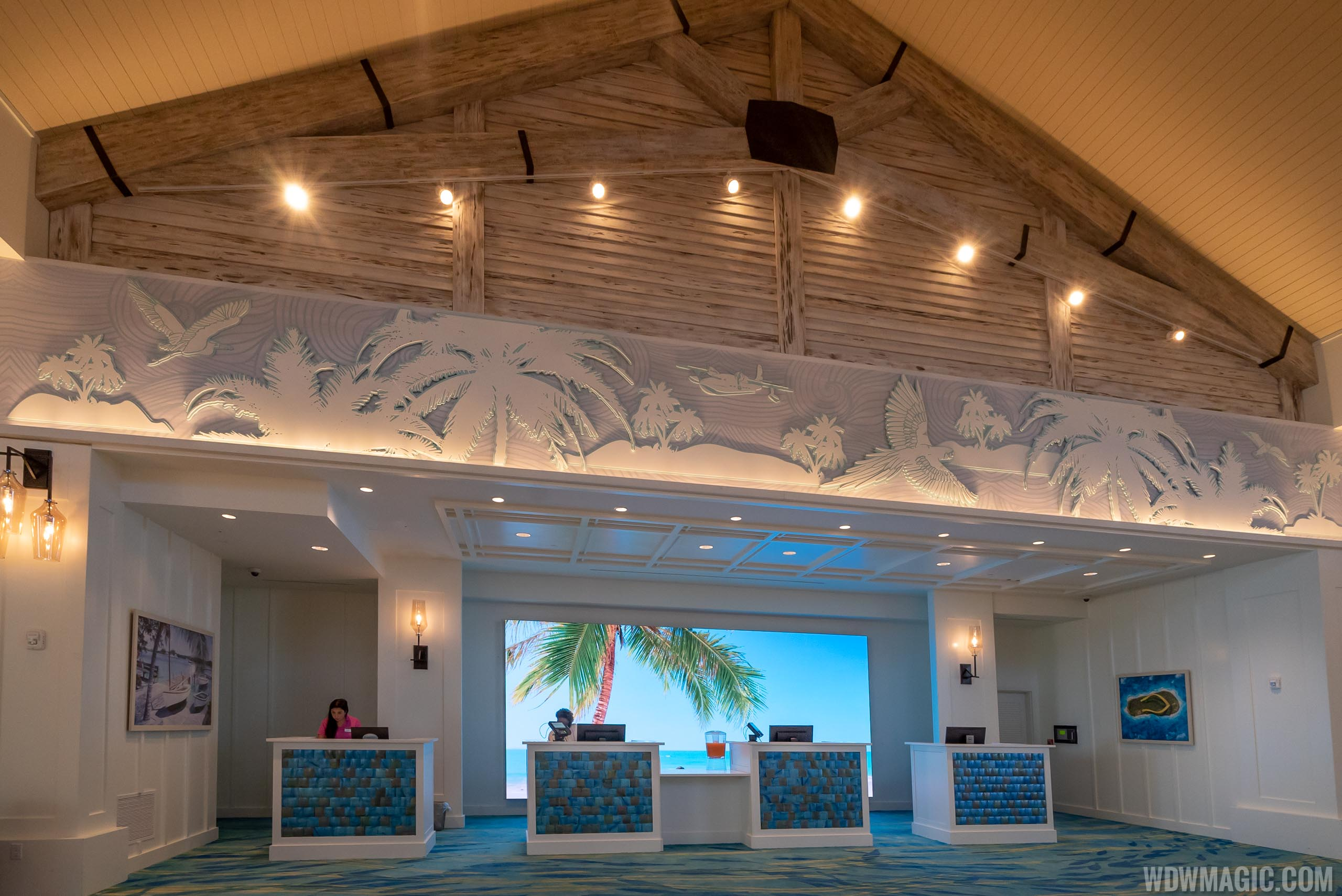 Margaritaville Resort Orlando - Check In Desks