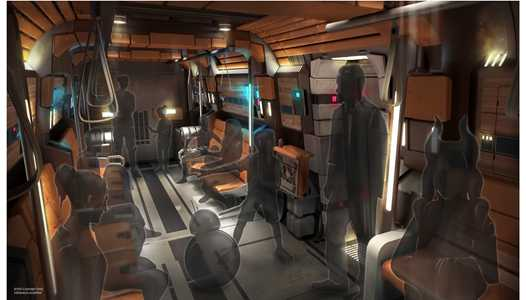 New permit filed for Star Wars Galactic Starcruiser hotel