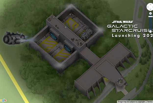 Star Wars Galactic Starcruiser on Disney World guidemap