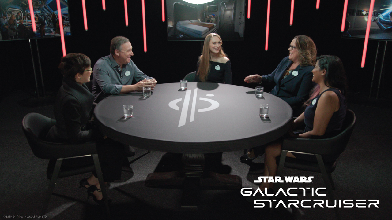 Listen to Walt Disney Imagineers reveal new details about the upcoming Star Wars Galactic Starcruiser at Walt Disney World opening spring 2022