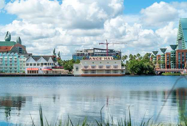 The Walt Disney World Swan Reserve construction - September 8 2020