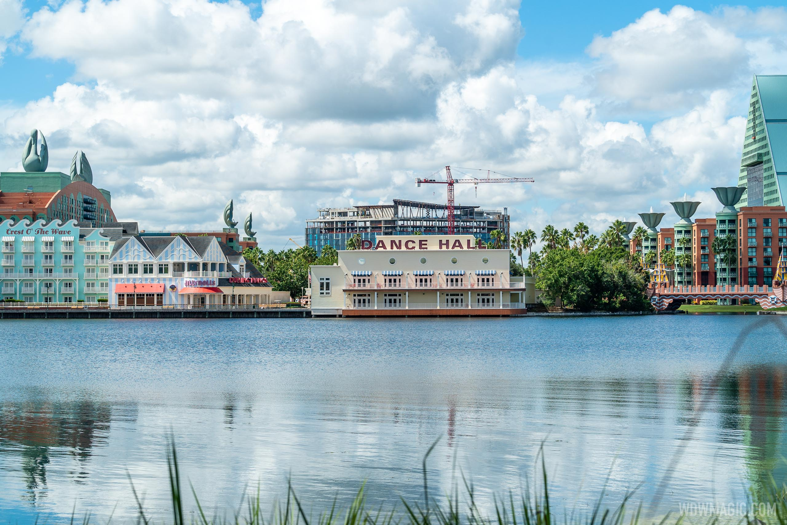 The Walt Disney World Swan Reserve construction - September 8 2020