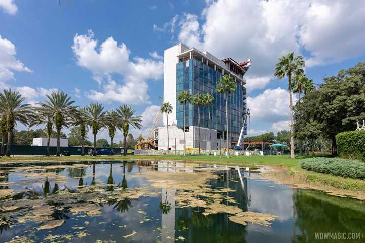 PHOTOS - A look at The Walt Disney World Swan Reserve construction