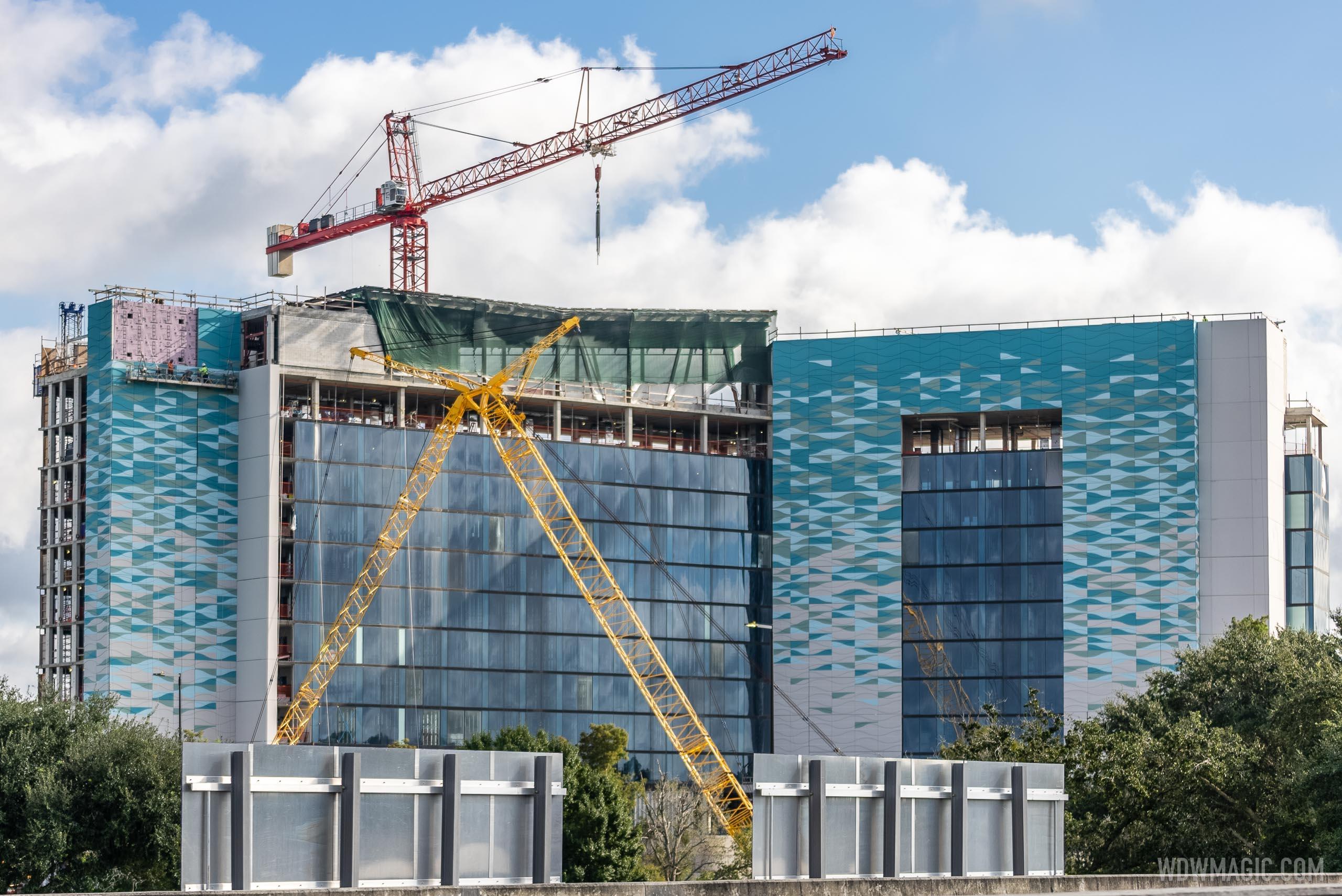 The Walt Disney World Swan Reserve construction - October 13 2020