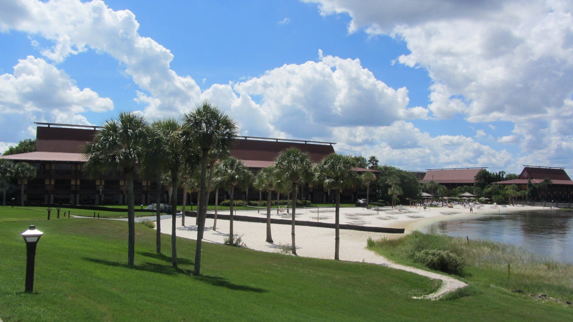 Early signs of DVC villas site preparation at Disney's Polynesian Resort