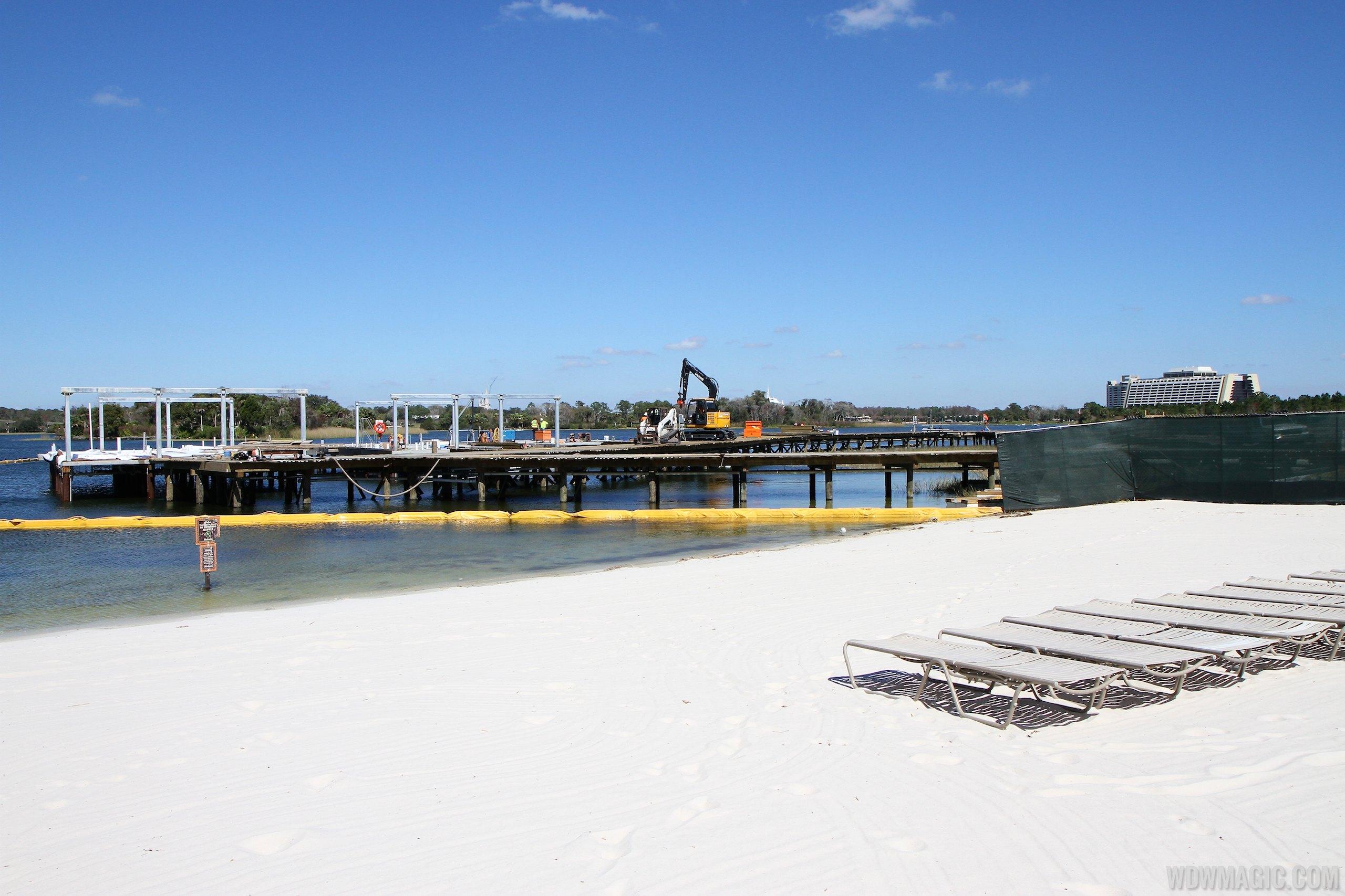Polynesian Resort DVC Villas construction