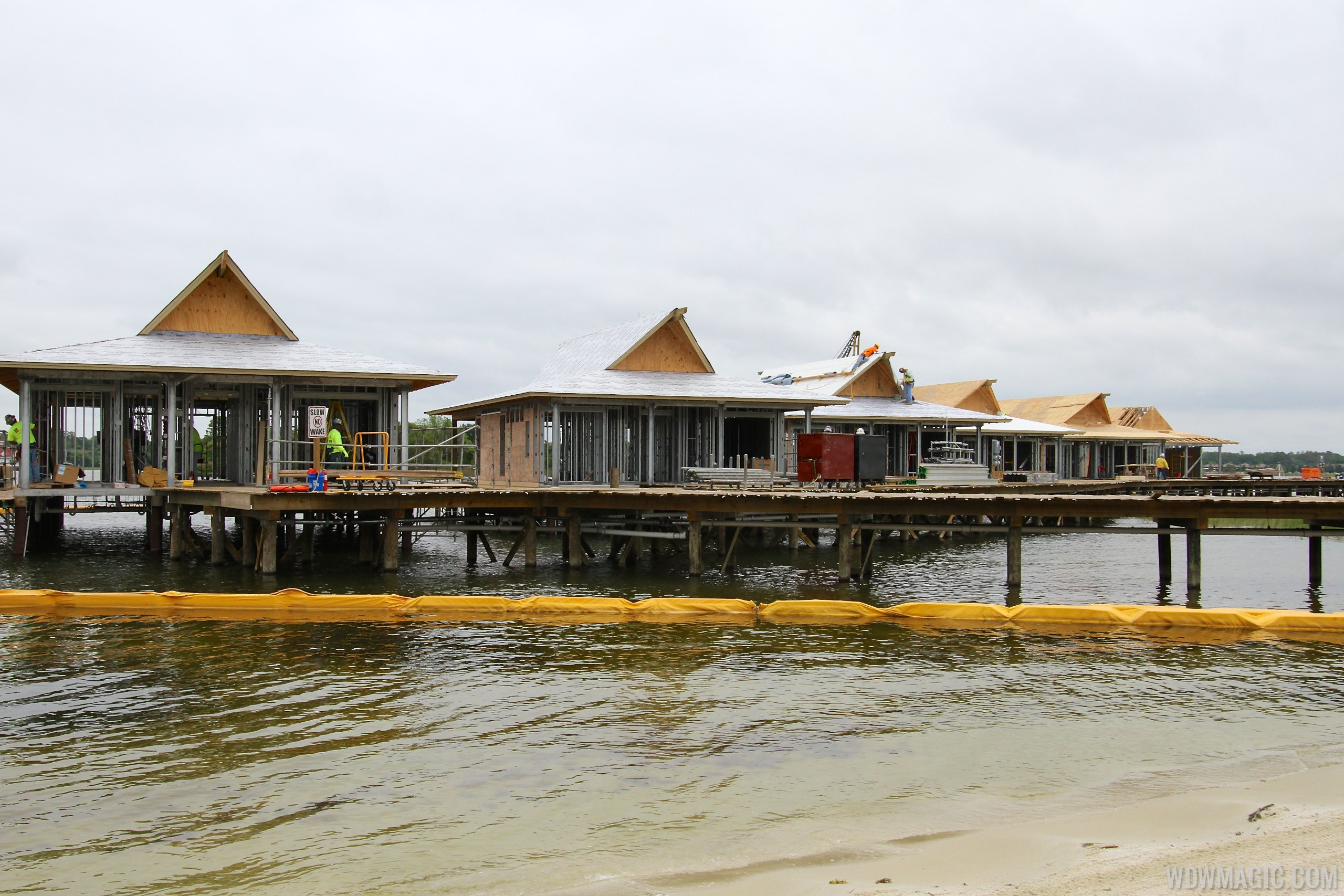 DVC Villas at Disney's Polynesian Resort construction