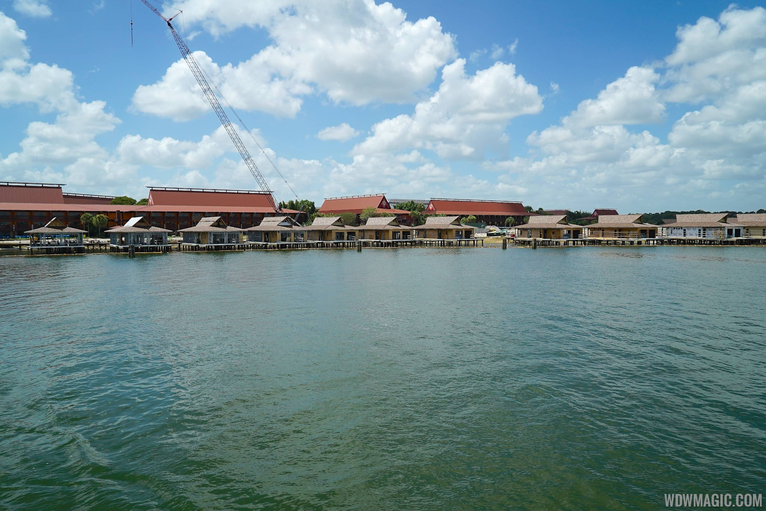 New DVC villa construction at the Polynesian