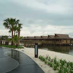 Tour inside a Disney's Polynesian Village Resort Bora Bora Bungalow villa