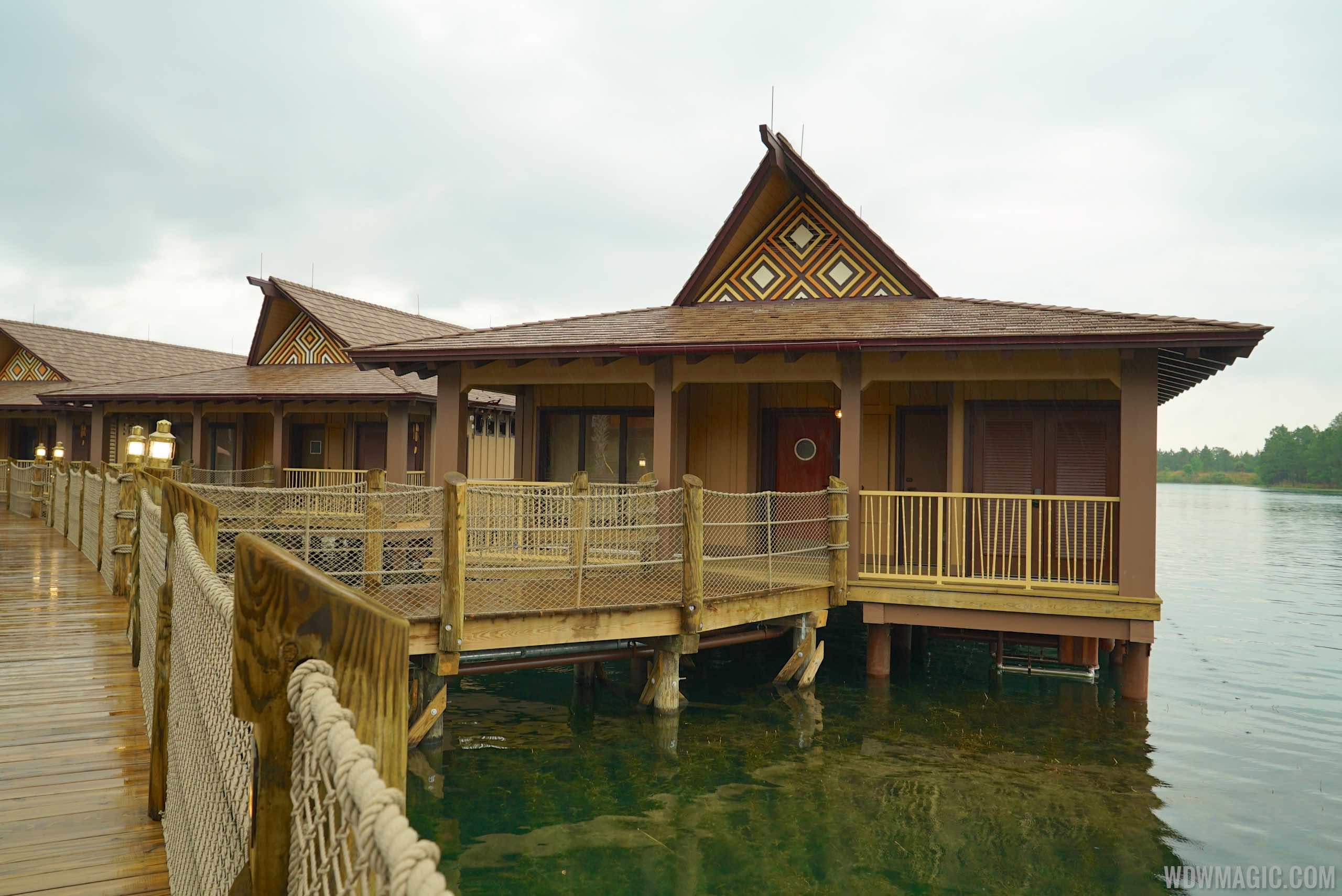 Disney's Polynesian Village Resort Bora Bora Bungalow - Bungalow frontage