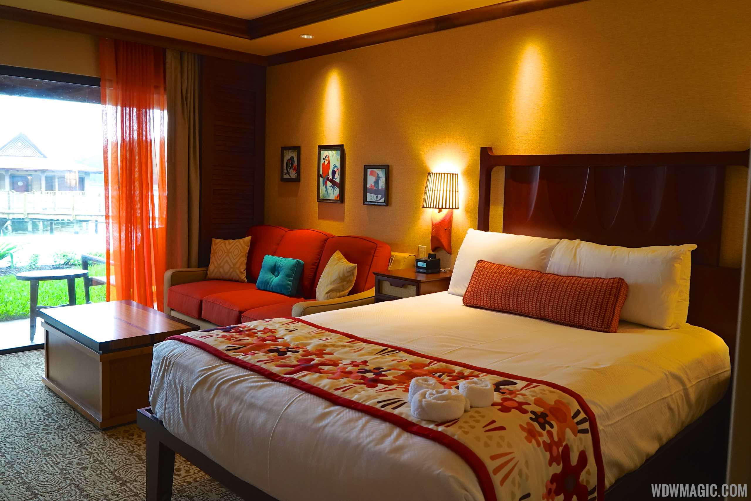 Disney's Polynesian Village Resort deluxe studio - Bedroom