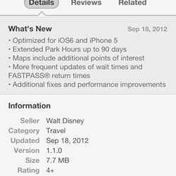 Official iPhone App updates